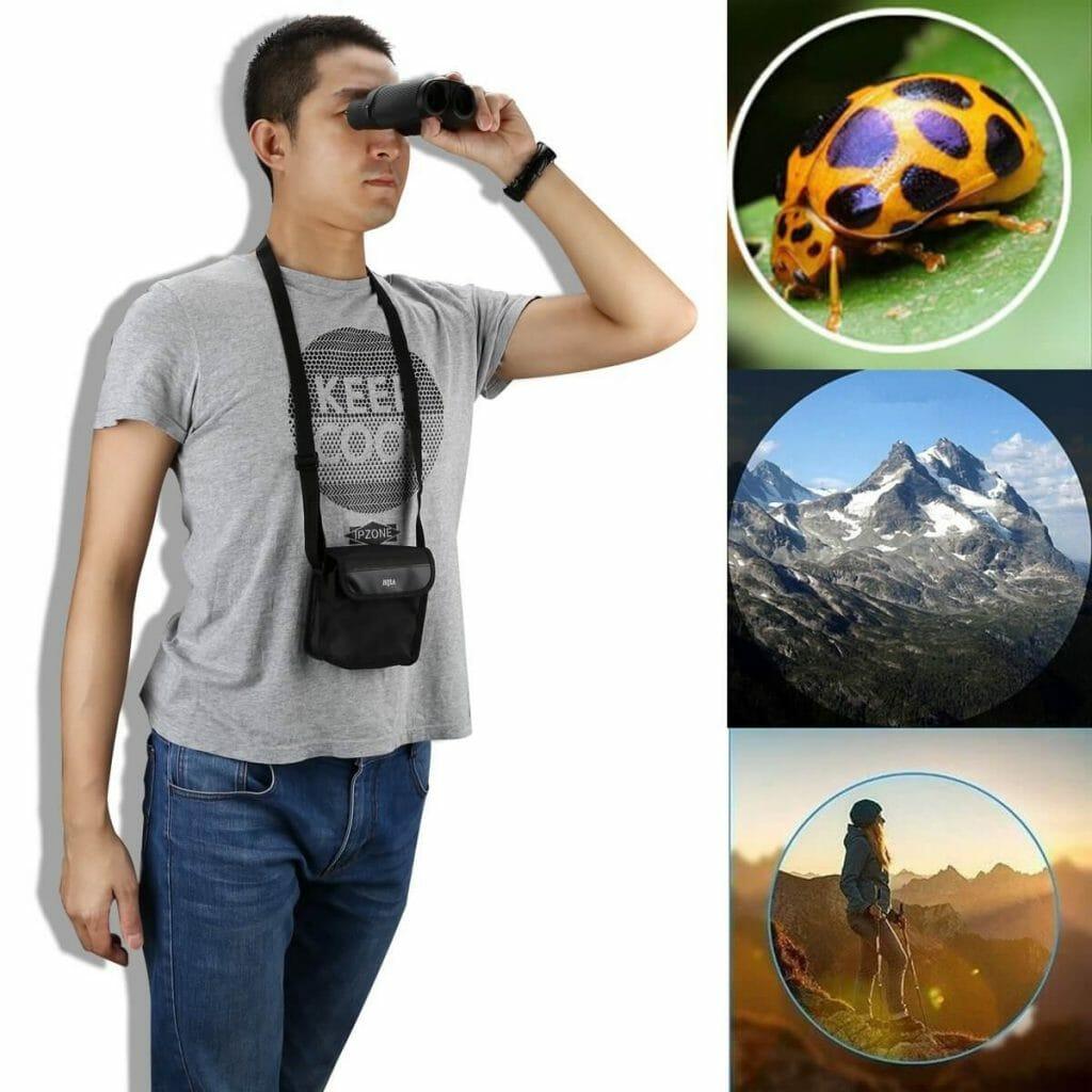 Surveillance Binoculars for Bird Watching Outdoor Sports Events