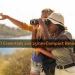 TASCO Essentials 10x 25mm Compact Binoculars