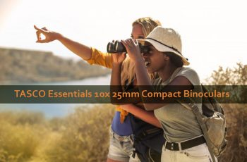 TASCO Essentials 10x 25mm Compact Binoculars