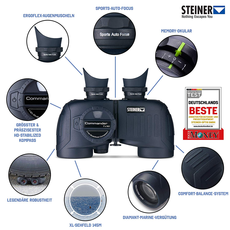 Steiner Marine Commander Series 7x50 Binoculars