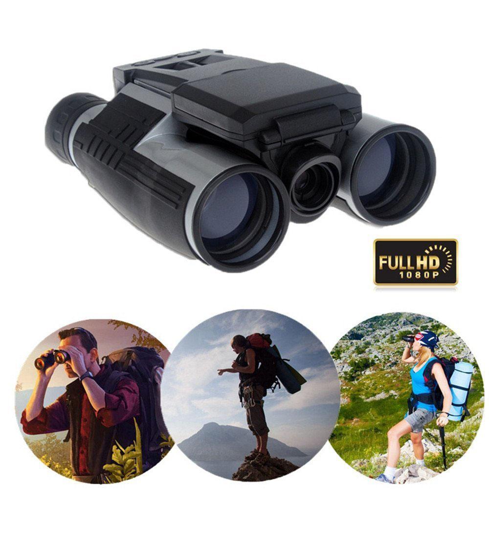 Fitiger 1080P 5MPLCD Camcorder Digital Binoculars