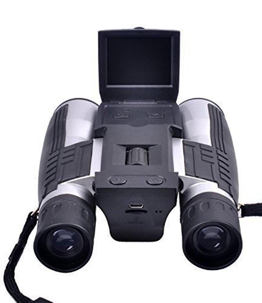 "PYRUS 2"" LCD Display Digital Camera 12x32 Binoculars"