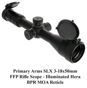 Primary Arms SLX 3-18x50mm FFP Rifle Scope