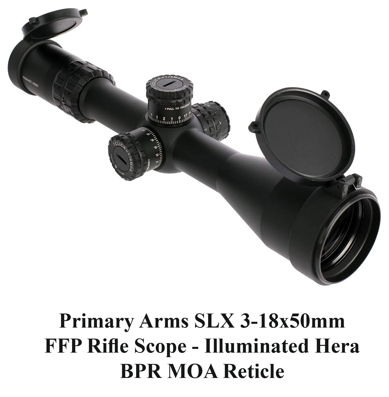 Primary Arms SLX 3-18x50mm FFP Rifle Scope
