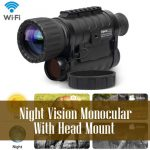 Night Vision Monocular With Head Mount