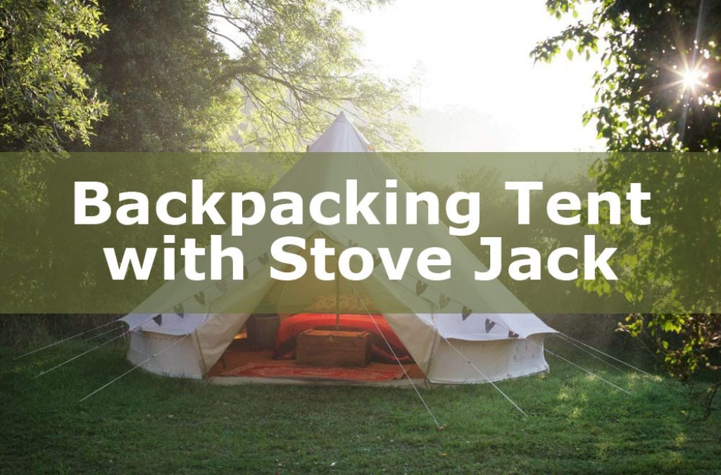 Backpacking Tent with Stove Jack
