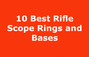 Best Rifle Scope Rings and Bases