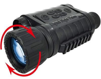 Bestguarder Night Vision Monocular HD Digital Infrared Camera Scope