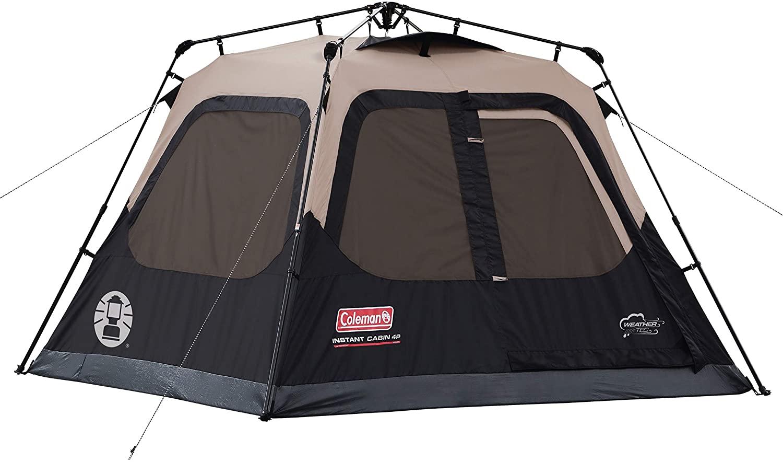 Coleman Cabin Tent Instant Setup