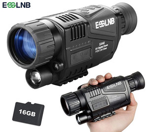 ESSLNB Night Vision Monocular 5X40 HD Night Vision Infrared Monocular