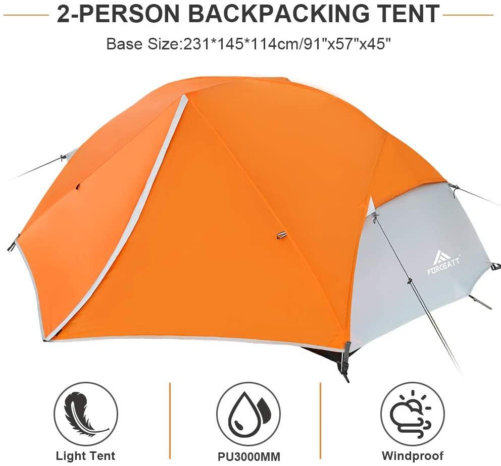 Forceatt Tent Waterproof and Windproof Camping Tent