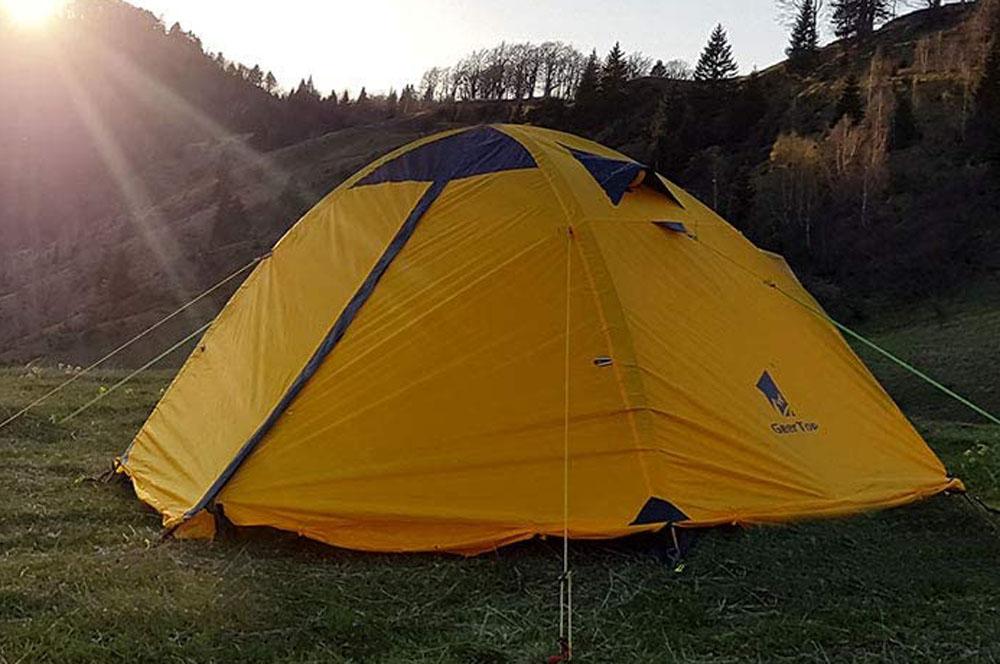 GeerTop Backpacking Tent for Outdoor Activities