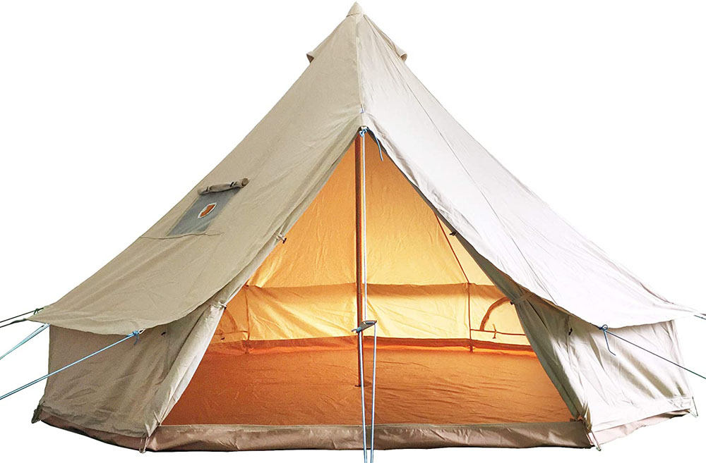 GlamCamp Luxurious Tent from Canvas