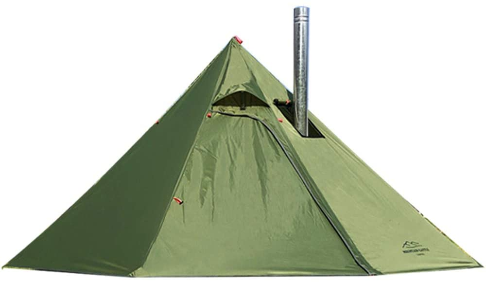 Preself 3 Person Tent with Stove Jack