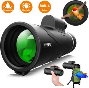 VIVREAL 12x50 High Power HD Monocular for Bird Watching