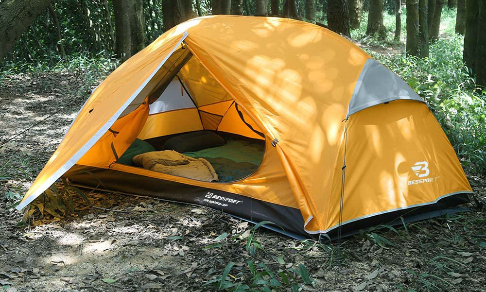 Bessport 3 and 2 Person Backpacking Tent Lightweight