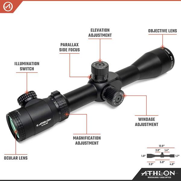 Athlon Optics Talos BTR Riflescope