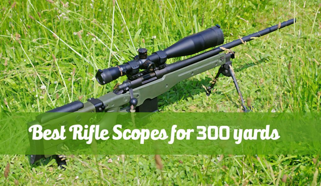 best rifle scopes for 300 yards