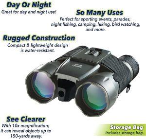Atomic Beam Night Hero Binoculars