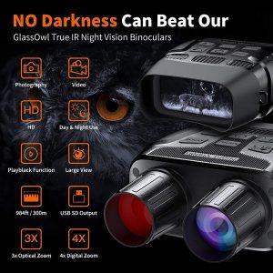 GTHUNDER Digital Night Vision Goggles