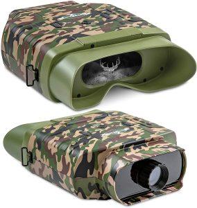 Hike Crew Camouflage Digital Night Vision Binoculars